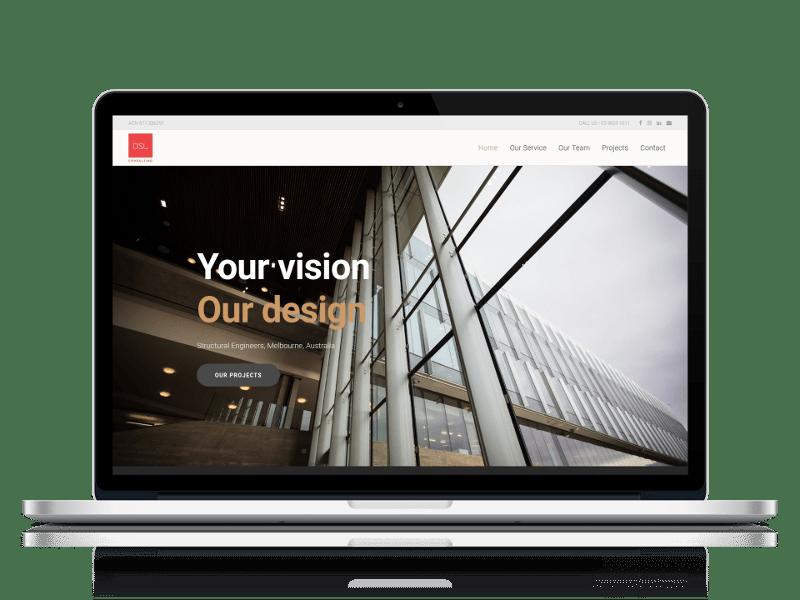 Consultants Website Design