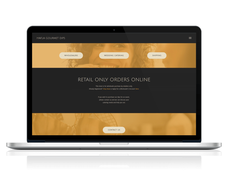 Retail Store Website Design
