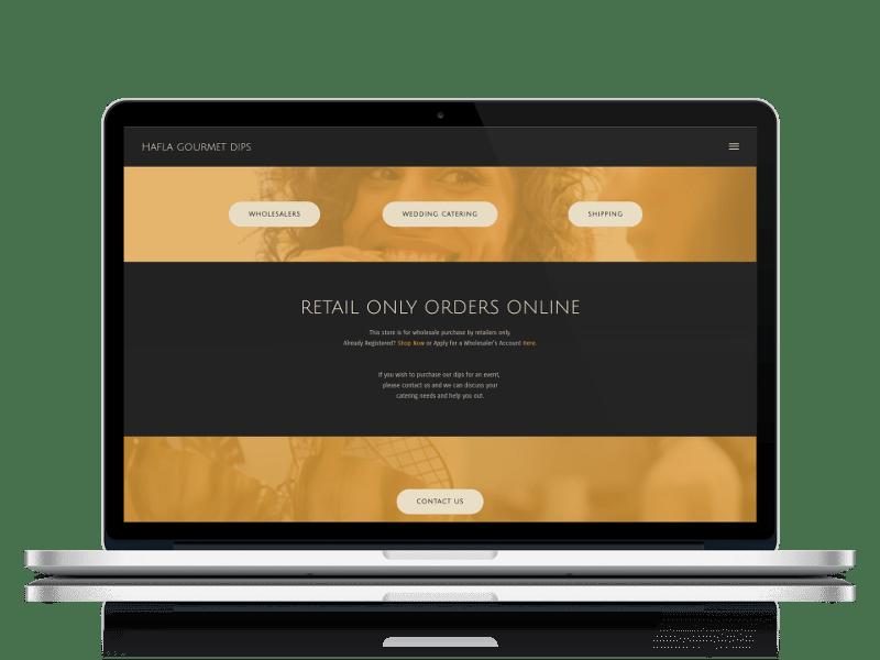 Retail Store Website Design